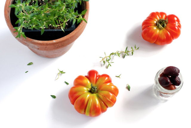 Les jolies tomates