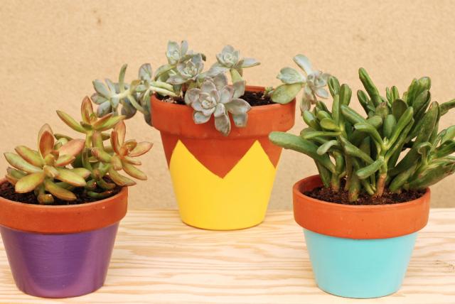 Projet 1/39 : les pots de fleurs