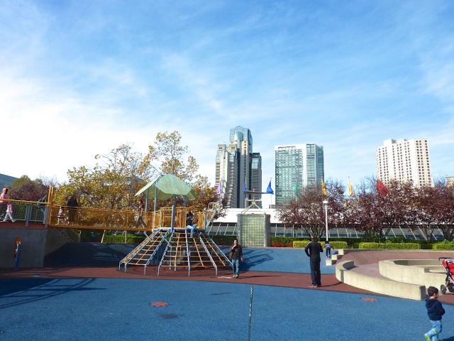 Balade aux Yerba Buena Gardens à San Francisco