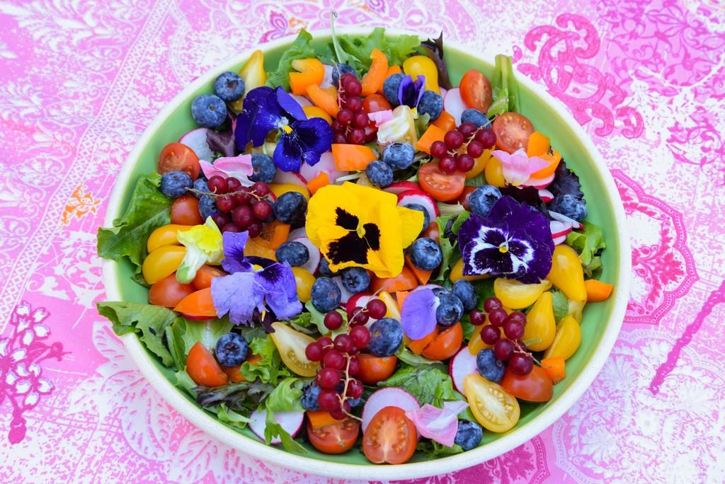 Salade fleurie-1