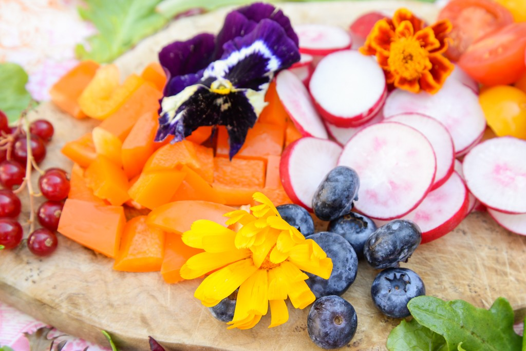 Salade fleurie-4