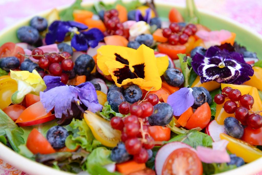 Salade fleurie-7