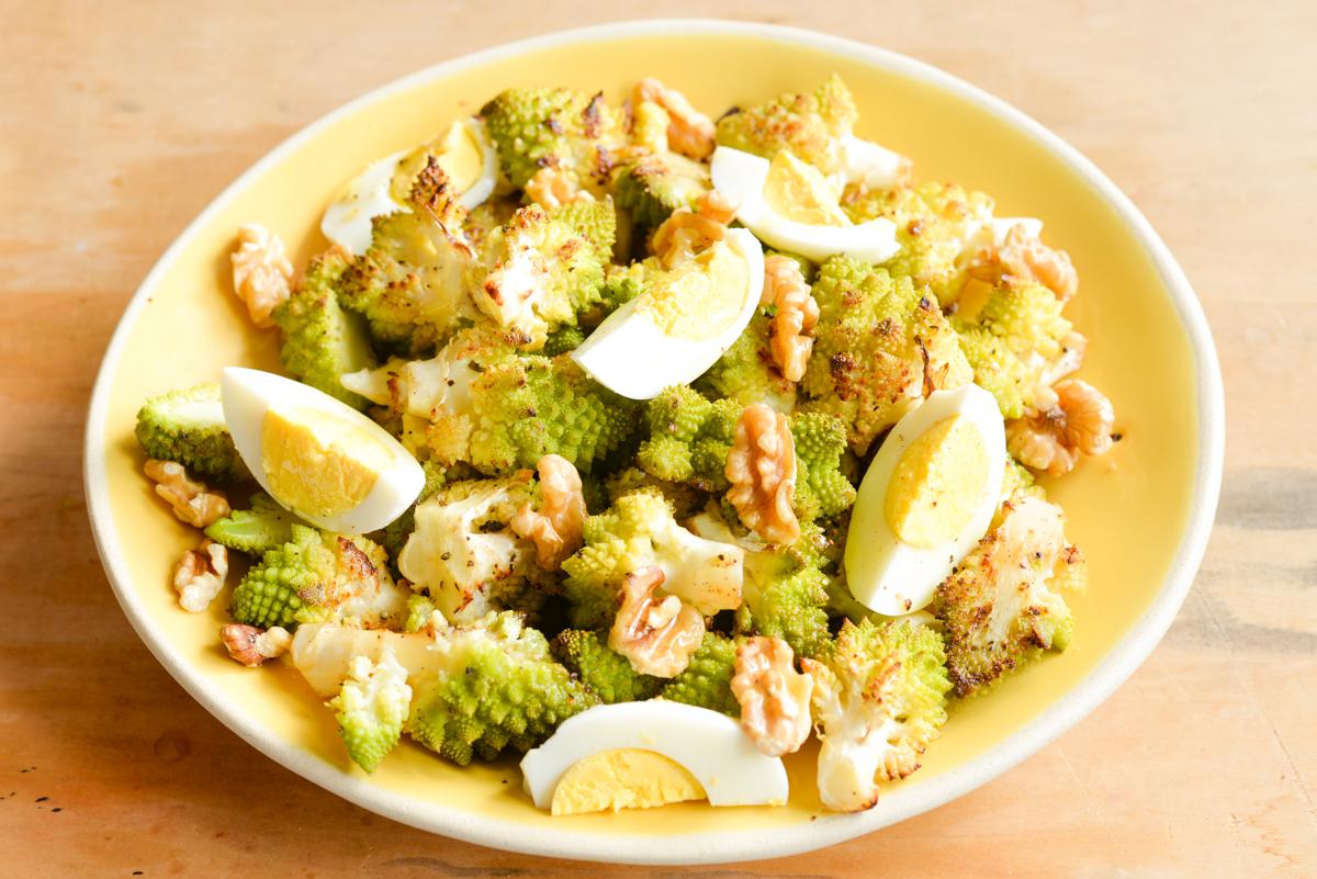 Salade de chou romanesco007