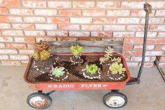 Recycler un chariot Radio Flyer