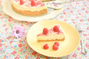 Cheesecake framboise