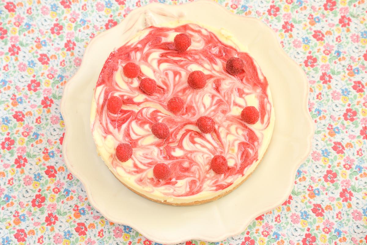 Cheesecake-framboise