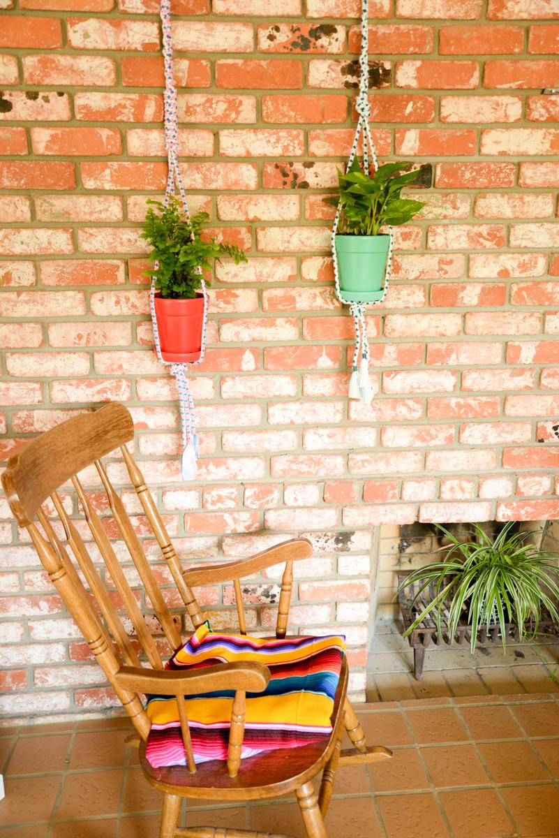 Suspension Pour Plantes D Intérieur recycler des ceintures en suspensions pour plantes - joli