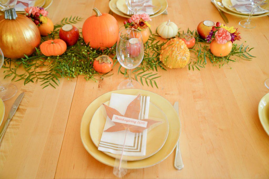 repas de Thanksgiving