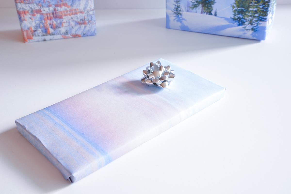 papier cadeau joli bonheur
