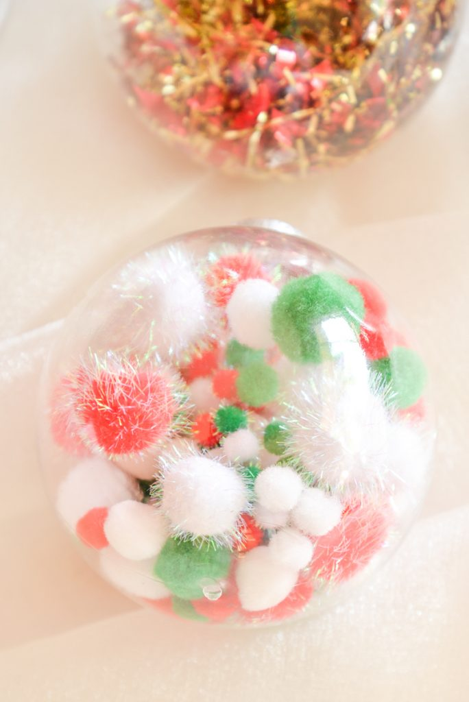 boules de Noel recyclees