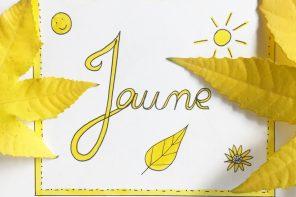 jaune-couleur