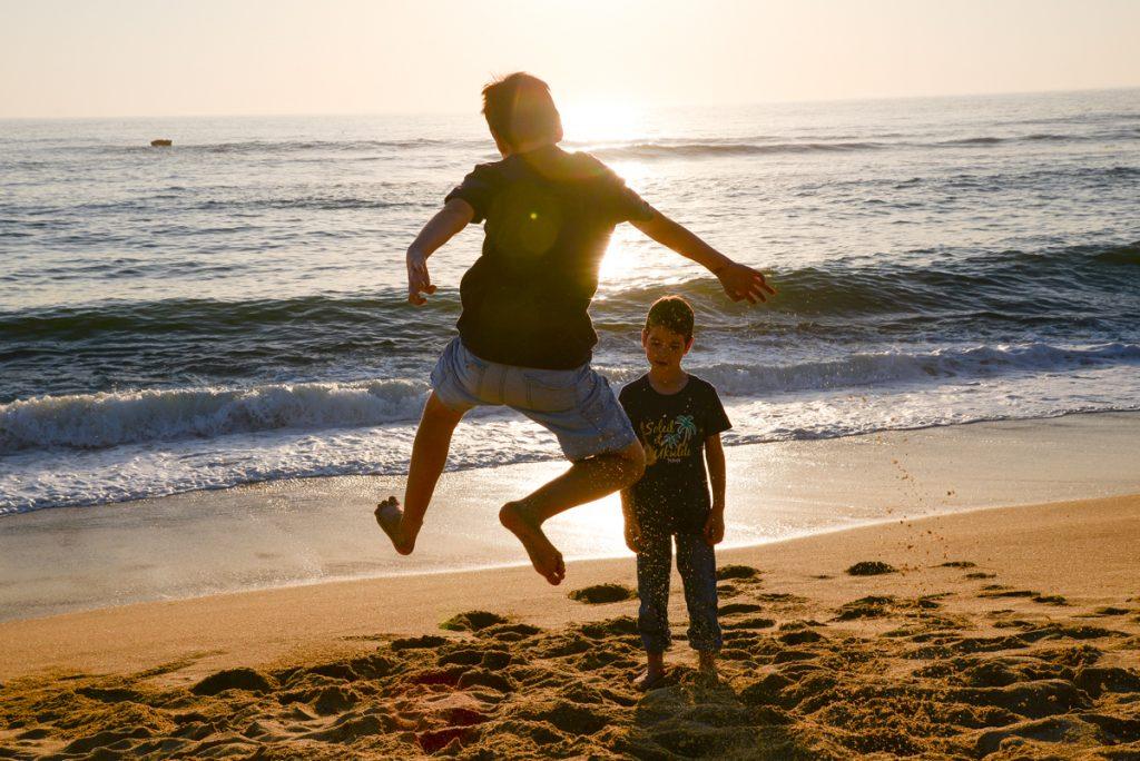 enfants-plage