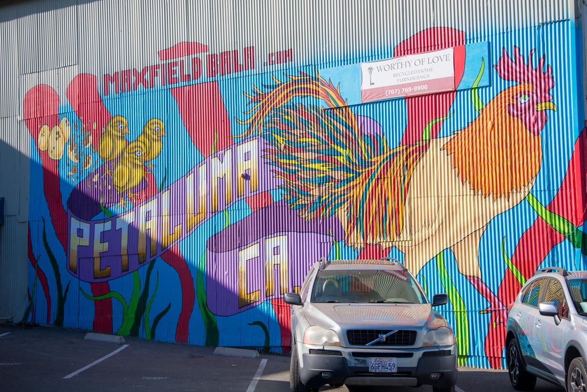 Petaluma-murale