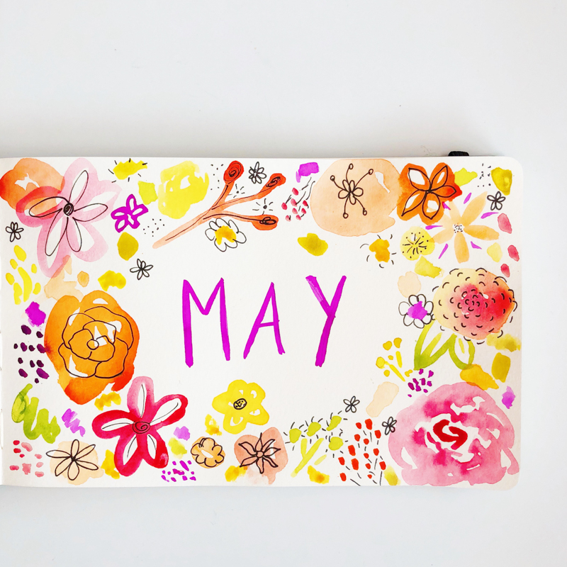 may-aquarelle-joli-bonheur