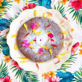 gateau-chocolat-fleuri