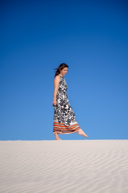 White-sand-dune