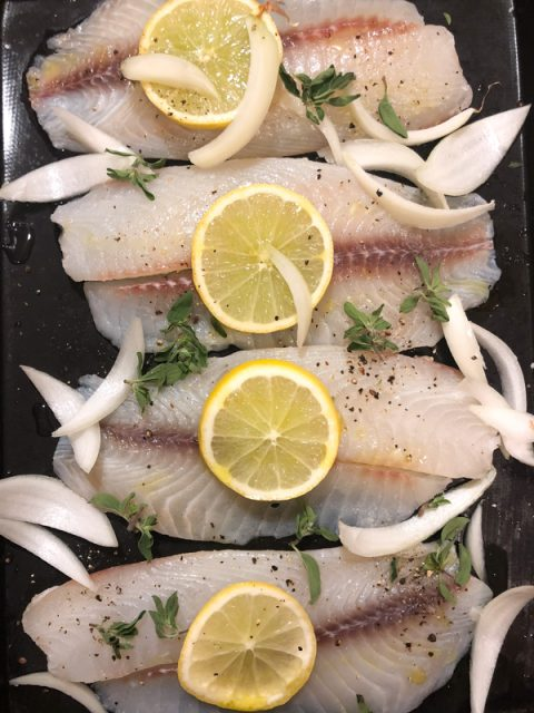 poisson-grille
