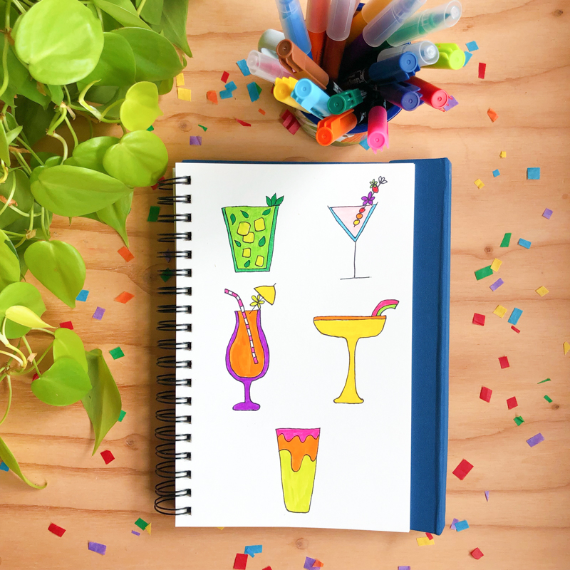 dessins-cocktails