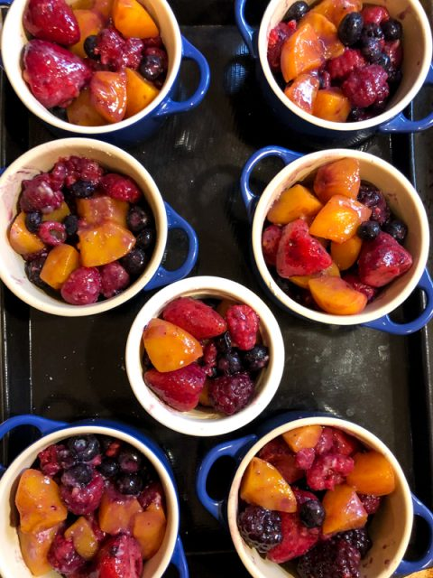 crumble-fruits